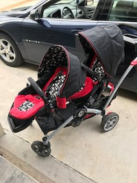 Contours Options Tandem Stroller 2 seat Woodway, 76712