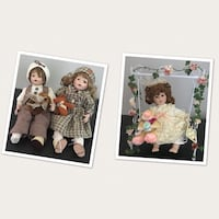 Variety of Porcelain Dolls London, N6B 2V5