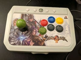 xbox 360 arcade fighting stick hori soul calibur