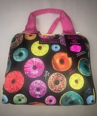 Betsey Johnson Donut lunch tote w/ food container Falls Church, 22041
