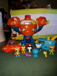 Octonauts Play Set with 5 Characters Calgary, T2A 3C4
