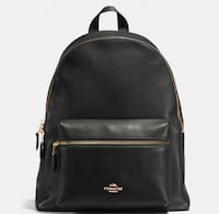 COACH Black leather  LARGE backpack Gaithersburg, 20879