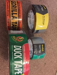 4 rolls of duct tape