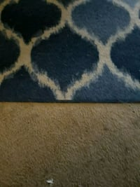 blue and white area rug Ceres, 95307
