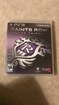 Saints Row the Third Sony PS3 game case Herndon, 20171