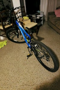blue and black full suspension mountain bike Fort Lauderdale, 33315