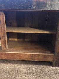 Reclaimed wood TV // storage console Denver, 80216