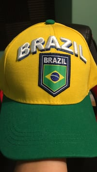 Brazil cap with tag and can change head size 2268 mi