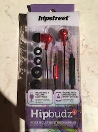Hipstreet hipbuds BRAND NEW$10 Calgary, T2A 6Y8