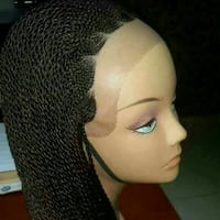 100% Handmade African Lace Wig