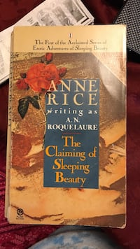The Claiming of Sleeping Beauty bu Anne Rice book Chicago, 60631