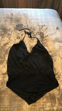 Black open back body suit  Fresno, 93726