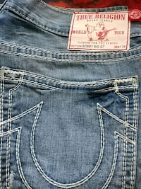 NEW TRUE RELIGION JEANS.34X34 Toronto, M9V 4A4