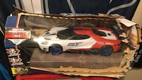 Ford GT remote control car for kids. Box got squished but toy has never been removed and is in perfect shape Pitt Meadows, V3Y 1W8