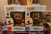 Funko pop south park Terrance and phillip chase. Toronto, M6H 3N5