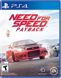 Need for Speed Rivals PS4 game case Markham, L6B 0P3