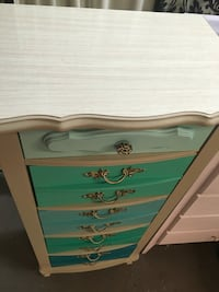 French provincial lingerie chest