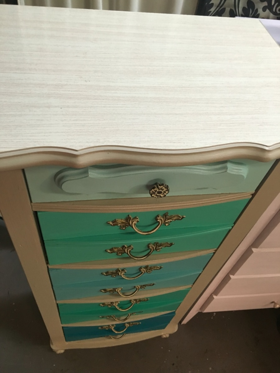 French provincial lingerie chest - United States