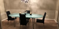 Calligaris table w/four chairs dining set Troy, 48085