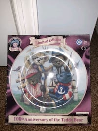 100th Anniversary of The Teddy Bear Commemorative Plate
