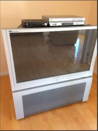 Silver rear projection television