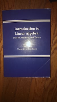 Introduction to Linear Algebra Center Moriches, 11934