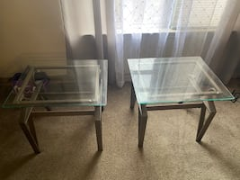 Matching side tables and coffee table