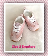 baby/toddler girl pink sneakers, size 2 New Tecumseth, L0L