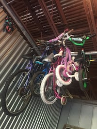 Lot of 13 bicycles Hyattsville, 20782