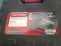 black and red Craftsman power tool box Sacramento, 95824
