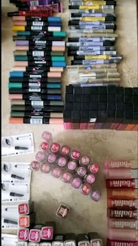 Wholesale Makeup 298 Piece, Maybelline, L'Oreal, Shelf Pull, New.  Arlington Heights