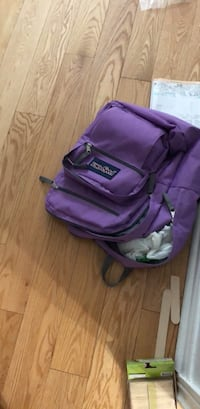 purple and black duffel bag Brampton, L7A 0N4