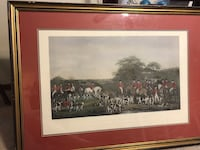 Engraving of Sir Richard Sutton and the Quorn Hounds Oklahoma City, 73135