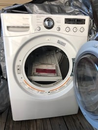 LG Stackable Gas Dryer - Like New GAITHERSBURG
