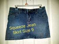 Squeeze Jean Skirt size 9 Colorado Springs, 80918