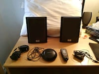 $25 Centrios 4015115 Computer Wireless Speakers with remote control Mississauga