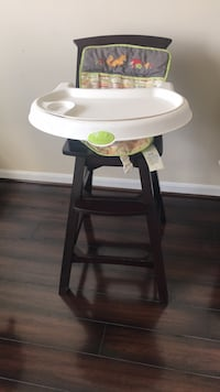 Wooden dark brown high chair Woodbridge, 22191