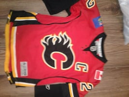 Calgary Flames Jersey Youth&Adult Autographed