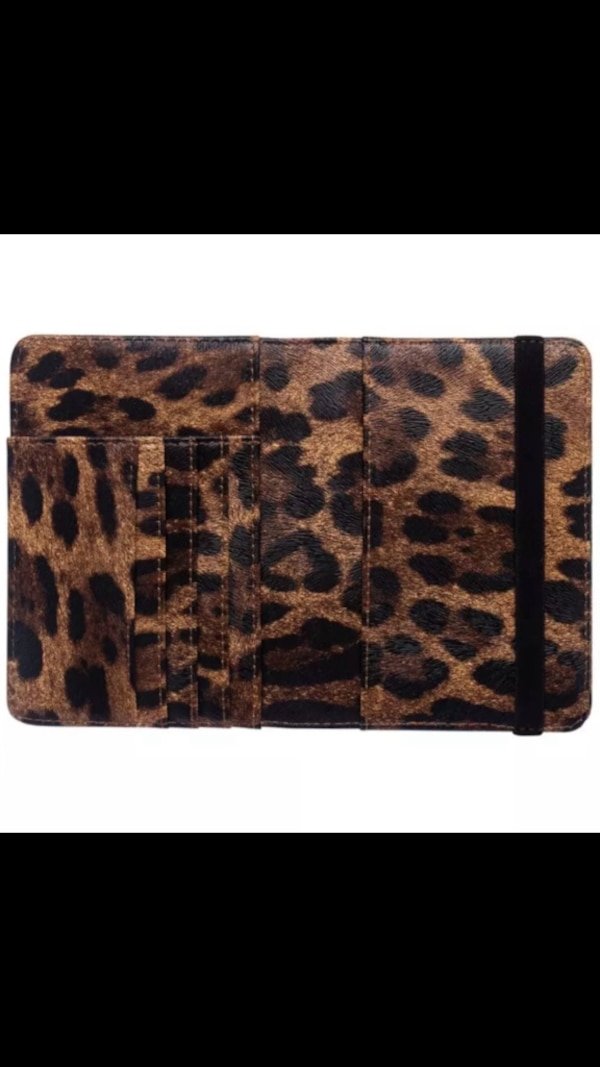 Leather passport cover case credit card travel wallet cd434afc-6c5d-4705-852d-bf02e0686f54