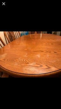 oval brown wooden dining table Richland, 49083