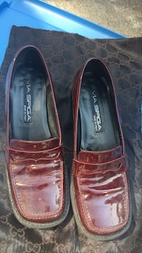 Pair of brown leather loafers Bethesda, 20817