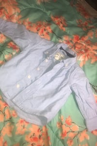 Baby boy button up shirt-PRICE NEGOTIABLE Toronto, M9N 2S5