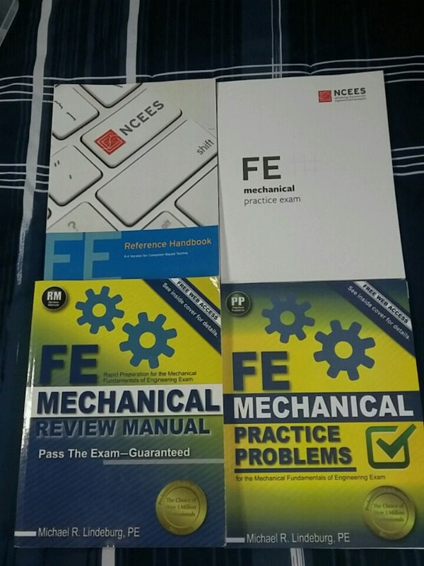 FE Exam (Mechanical) Book Set