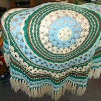 Classy handcrafted crocheted blanket Vancouver, 98660