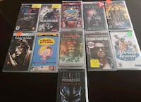 assorted Sony PSP Games & Movies Toronto