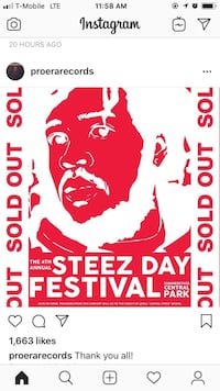 STEEZ DAY TICKET FOR SALE Cambridge, 02139