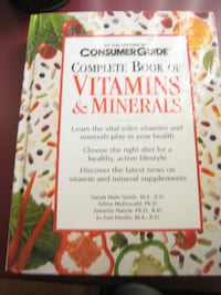 Complete Book of Vitamins  Mississauga
