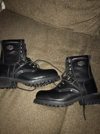 New 8 1/2 Harley steel toe boots Salem, 03079