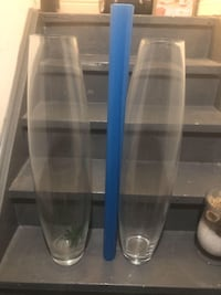 2 large vases $20 for both New Tecumseth
