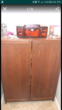 brown wooden cabinet with mirror Long Beach, 90805